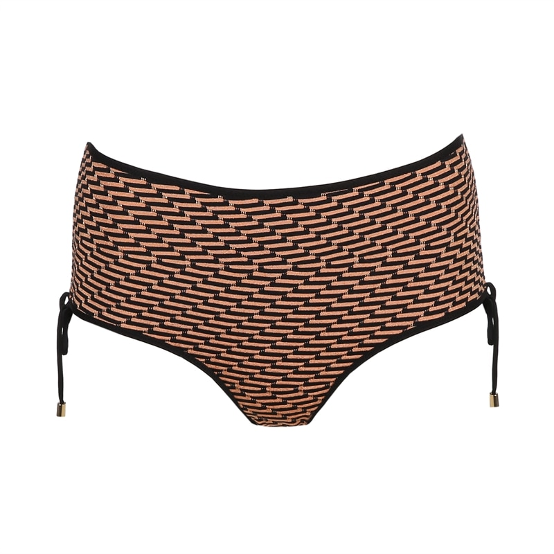 marie jo swimwear 2019 monica boxer bikini copper glitter black pattern trendy 1001253COP_1