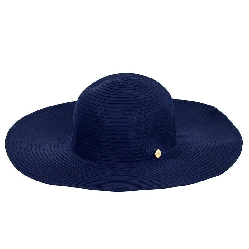 seafolly Beach Basics Lizzy Hat Indigo beach hat dark blue  S70403Indigo_1