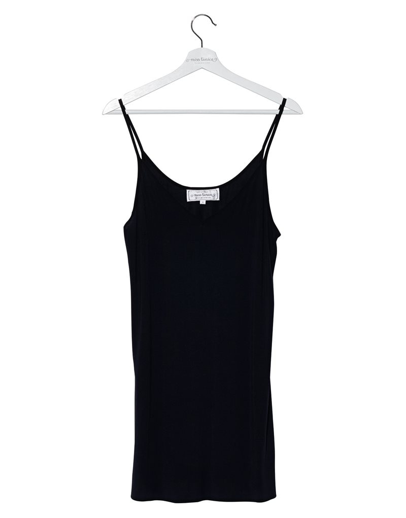 Slipdress medium längd Black Diamond