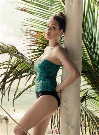 77c45c16 Anita Rosa Faia Svart Bandeau Bikini-bh Hermine 8745-1.001 Black ...