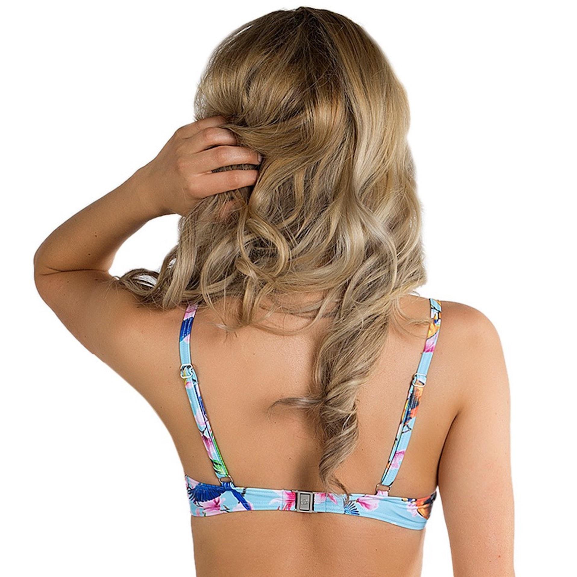 202a44a1 Turkos push-up bikini från Panos Emporio på rea! | Kvinnligt Under