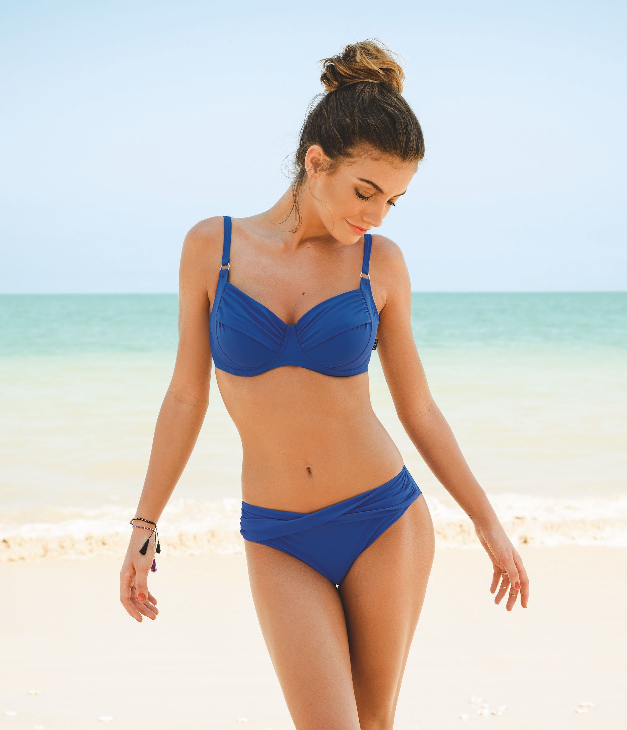 29f5c9f85646ac ... Blå Bikini-bh Twiggy 8733-1 French Blue ...
