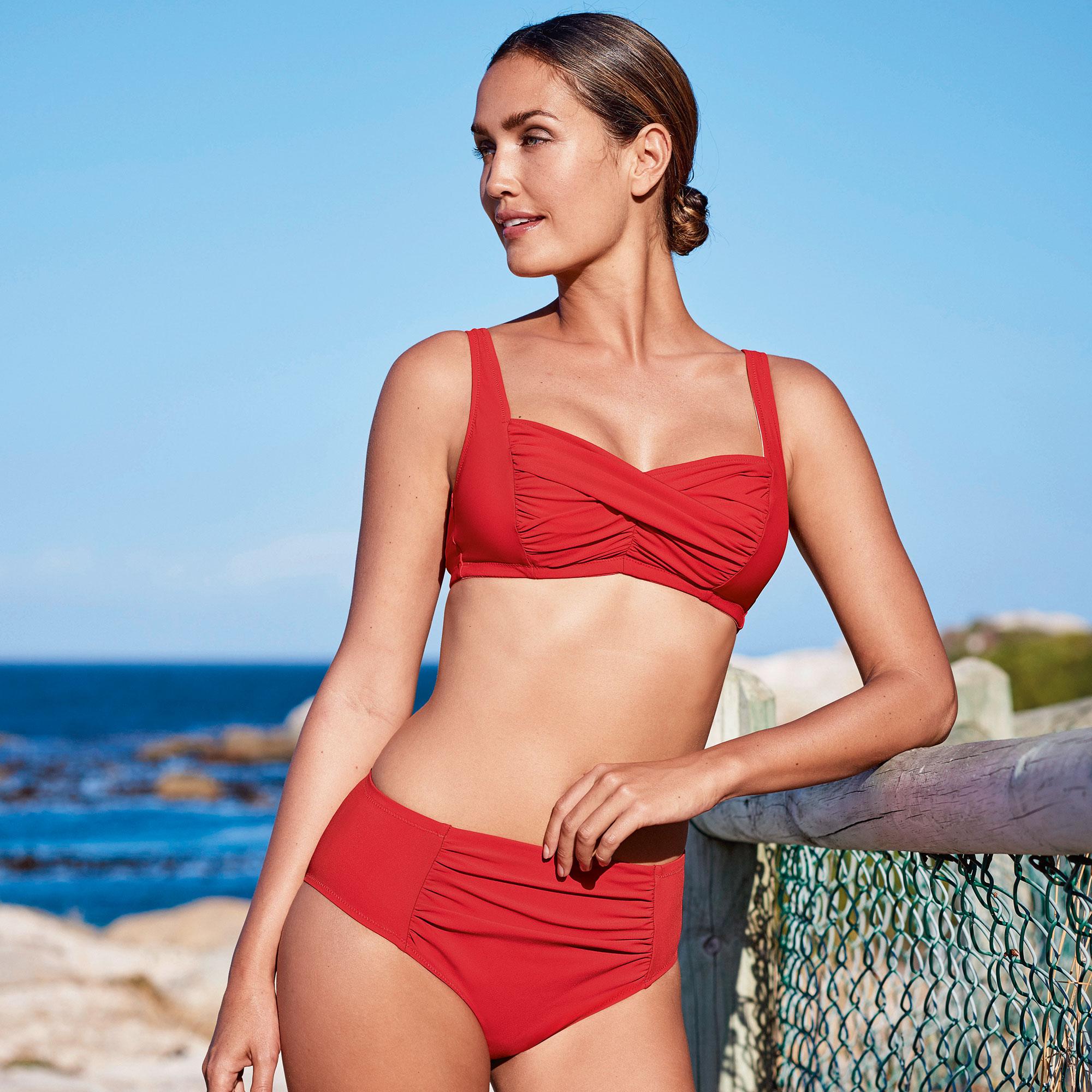 bikini för storväxta