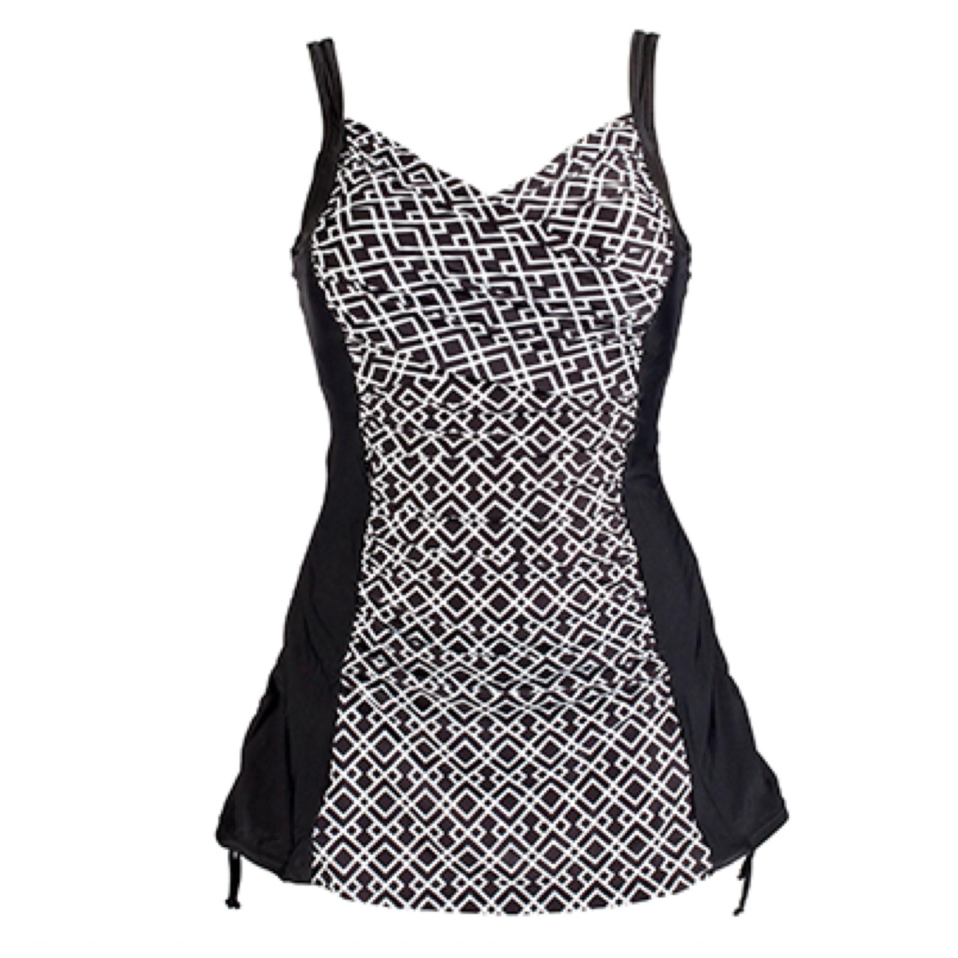 Wiki Care baddräkt med kjol i 36 till 54  85dc4d84c8f72