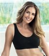 anita care isra mastectomi cotton black bra bomull brost cancer protes bh framknappt 5315X_001