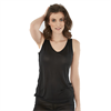 Pure Knitted Silk Top Black